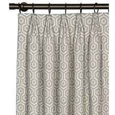 Graphic Print Curtains | AllModern