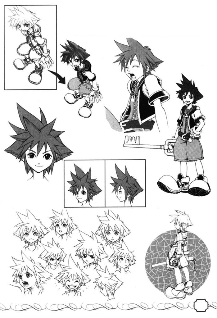 Kingdom Hearts Concept Art
