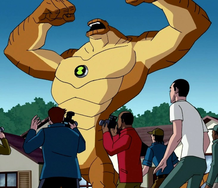 Growth Muscle Ben 10 Omniverse
