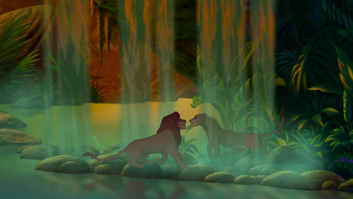 Waterfall Lion King