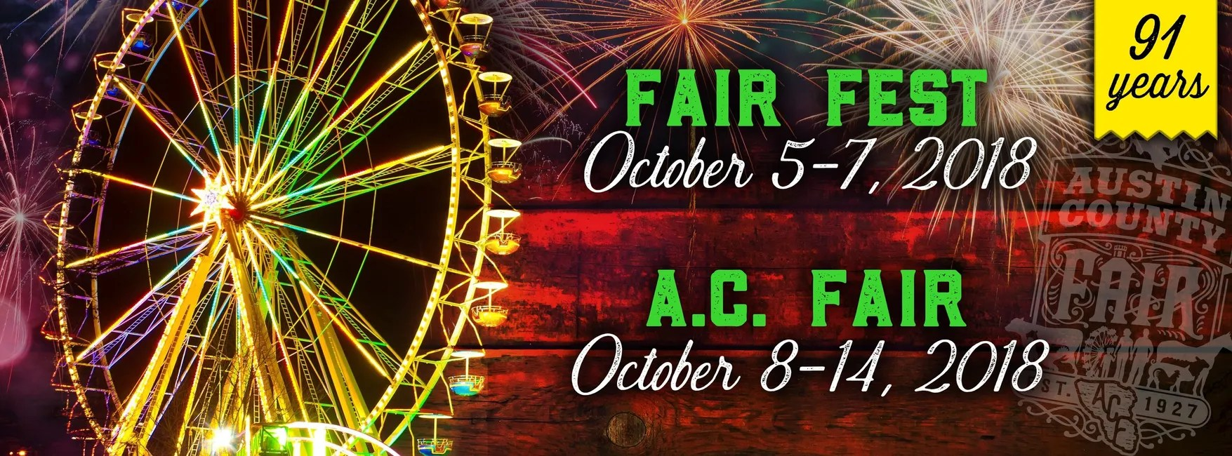 Austin County Fair Fair Event Center