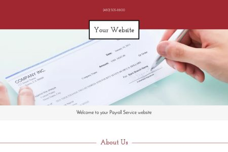 Payroll Service Website Templates   GoDaddy Payroll Service Example 14
