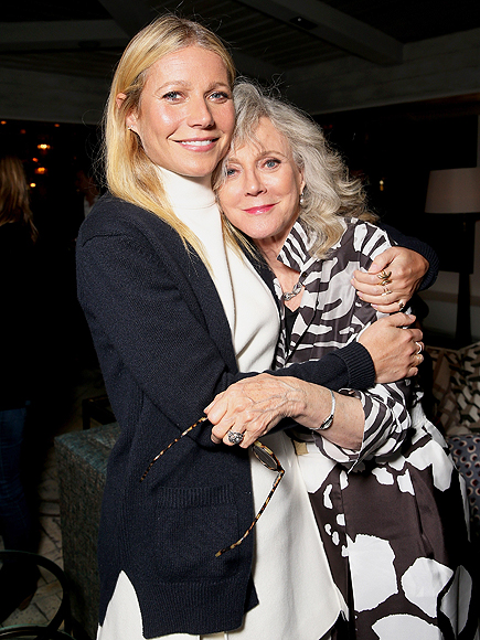 Blythe Danner on Daughter Gwyneth Paltrow's Fame : People.com