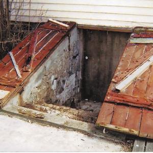 Replacing Bulkhead Doors Basements Amp Foundations This