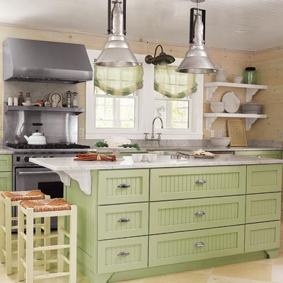 Fashion A Farmhouse Feel 26 Low Cost High Style Kitchen