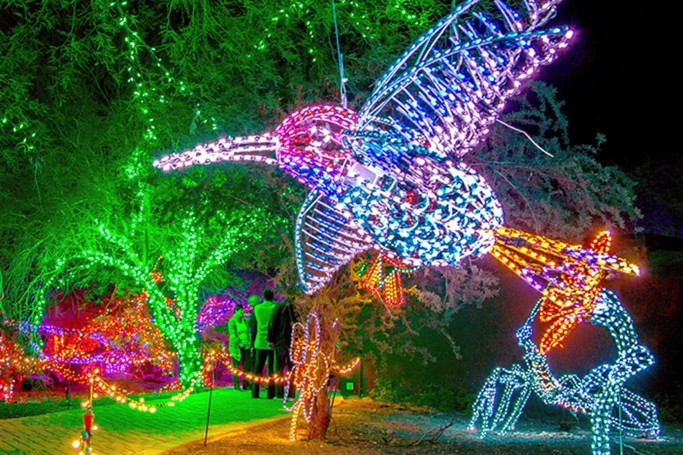 Riverbanks Zoo Lights