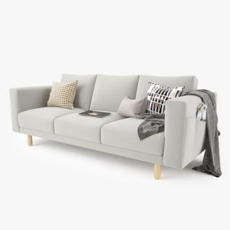 3D model Modern Sofa Set 01   CGTrader     modern sofa set 01 3d model max obj fbx mtl 4