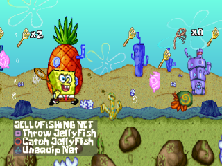 Play SpongeBob SquarePants   SuperSponge Sony PlayStation online     SpongeBob SquarePants   SuperSponge ingame screenshot
