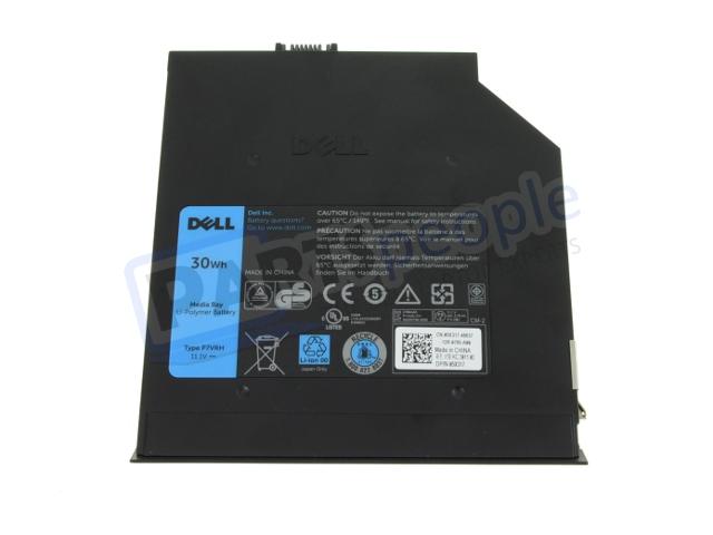 New Dell Oem Original E Series 2nd Bay Battery P7vrh