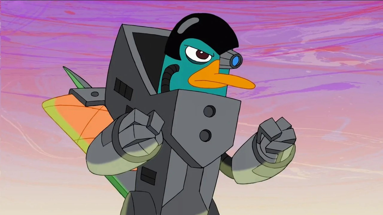 Perry Platypus Becomes Evil