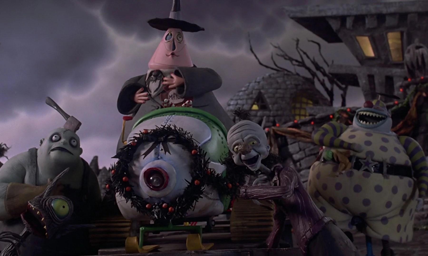 Map Town Nightmare Christmas