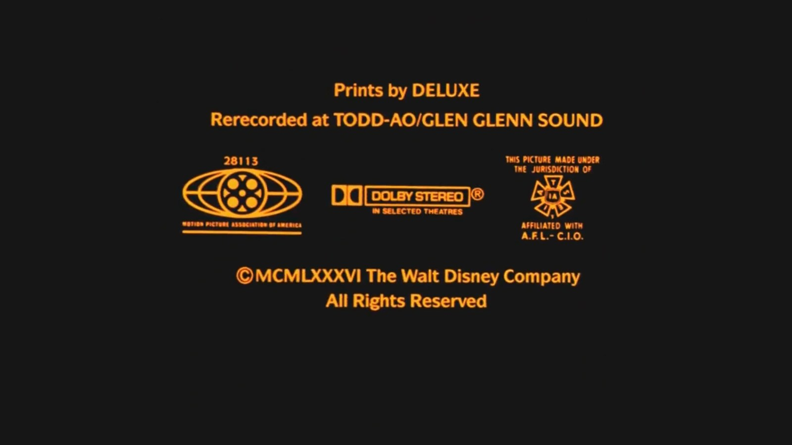 Mpaa Logo: Spectral Recording Dolby Stereo Logo