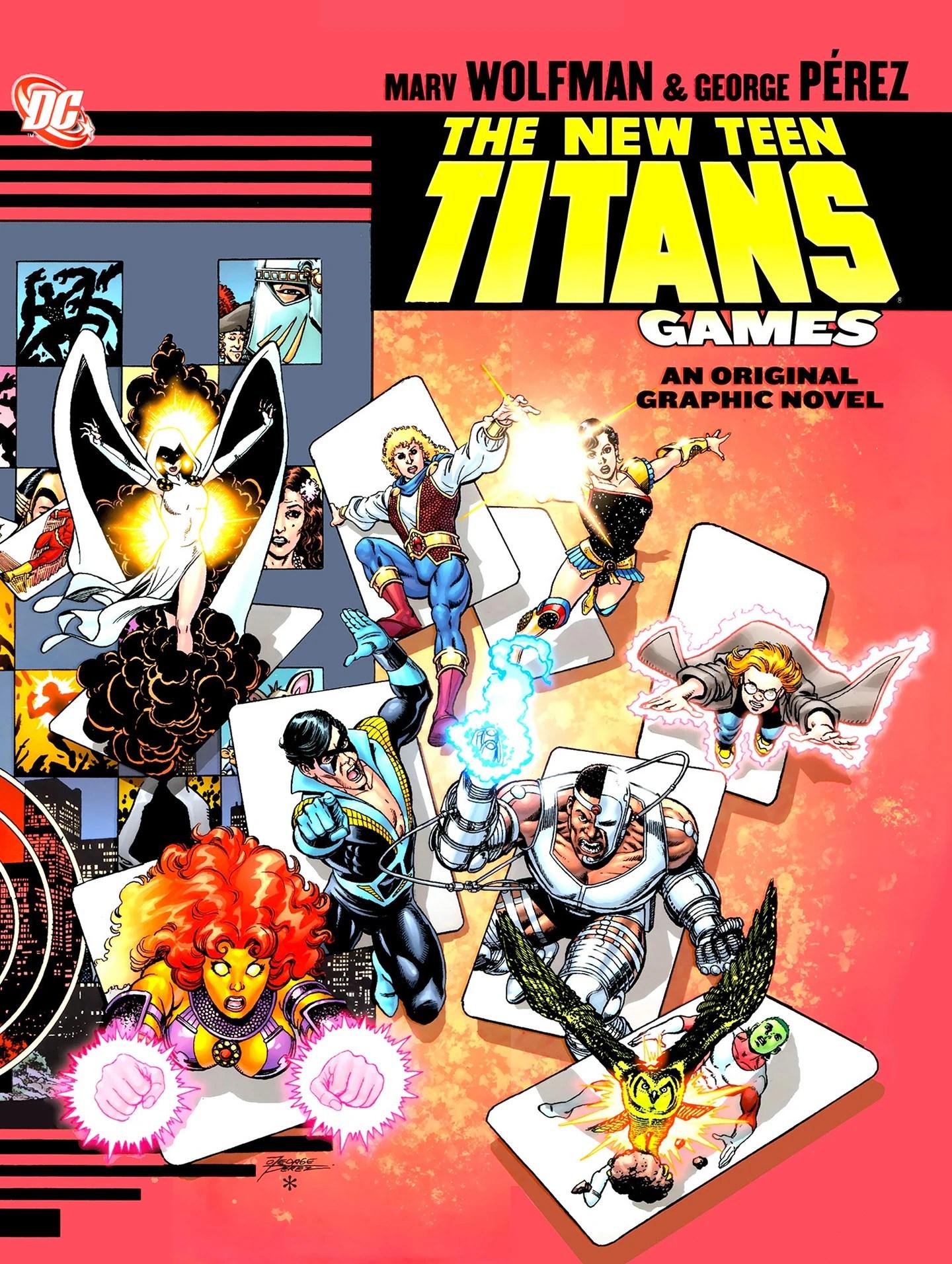 New Teen Titans: Games - DC Comics Database