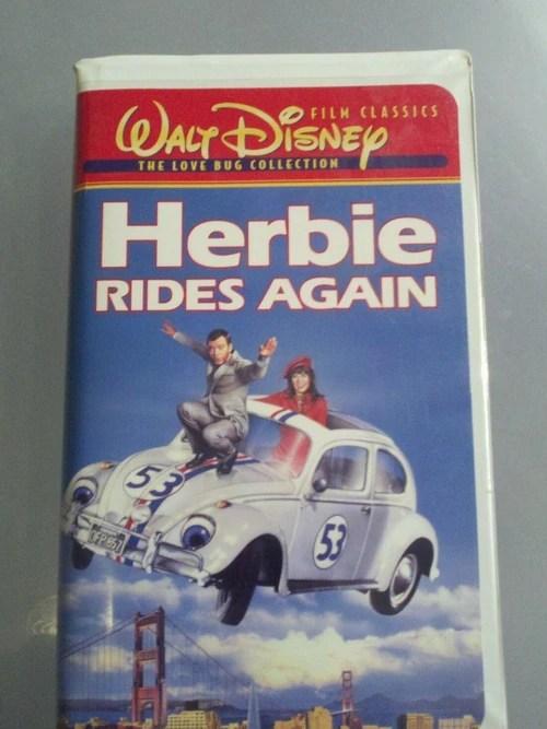 herbie rides again opening dvd - 500×667
