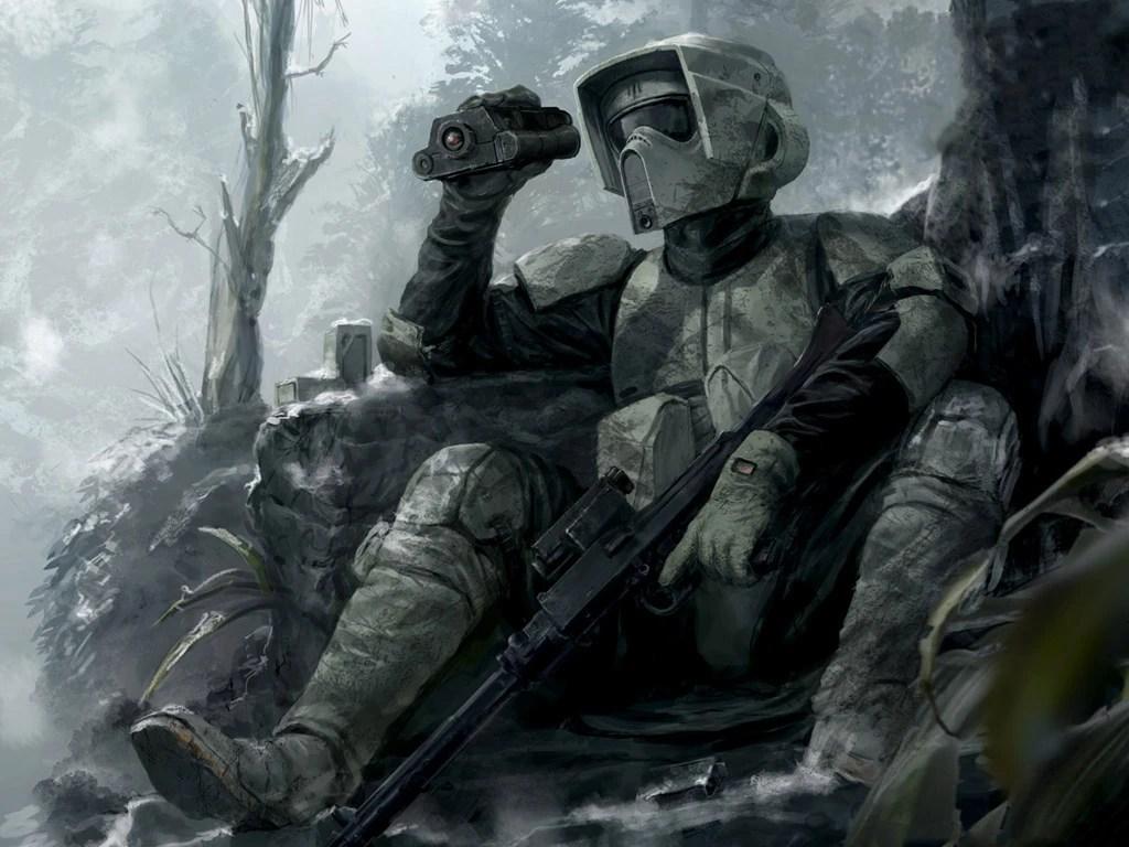 Shadow Scout Wars Star Trooper