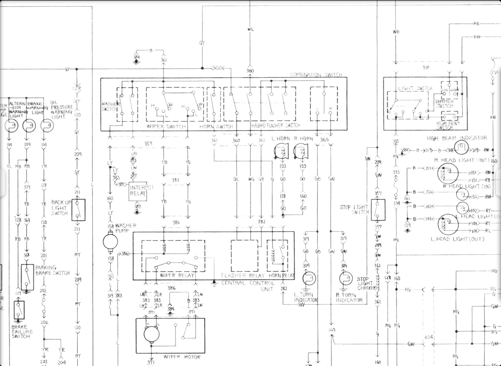 Rx4 register and records page 136 ausrotary mazda rx4 wiring diagram 5 mazda rx4 wiring diagram