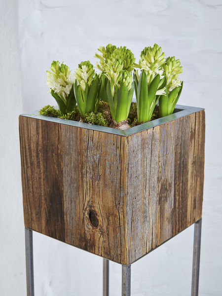 Tall Wooden Planters Uk