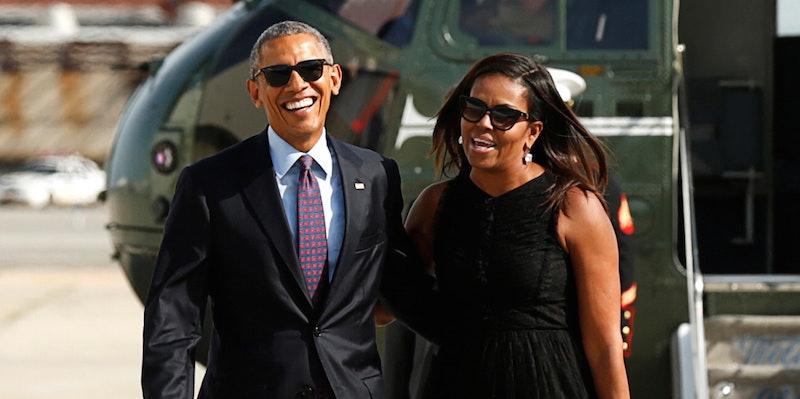 Michelle Obama Will Not Run For President, Says Barack Obama