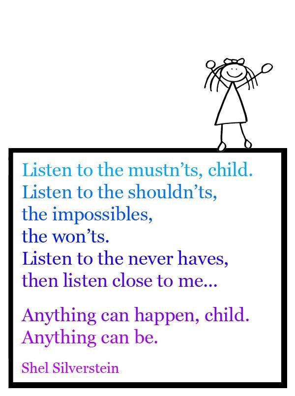 Throwing Shel Silverstein Poem