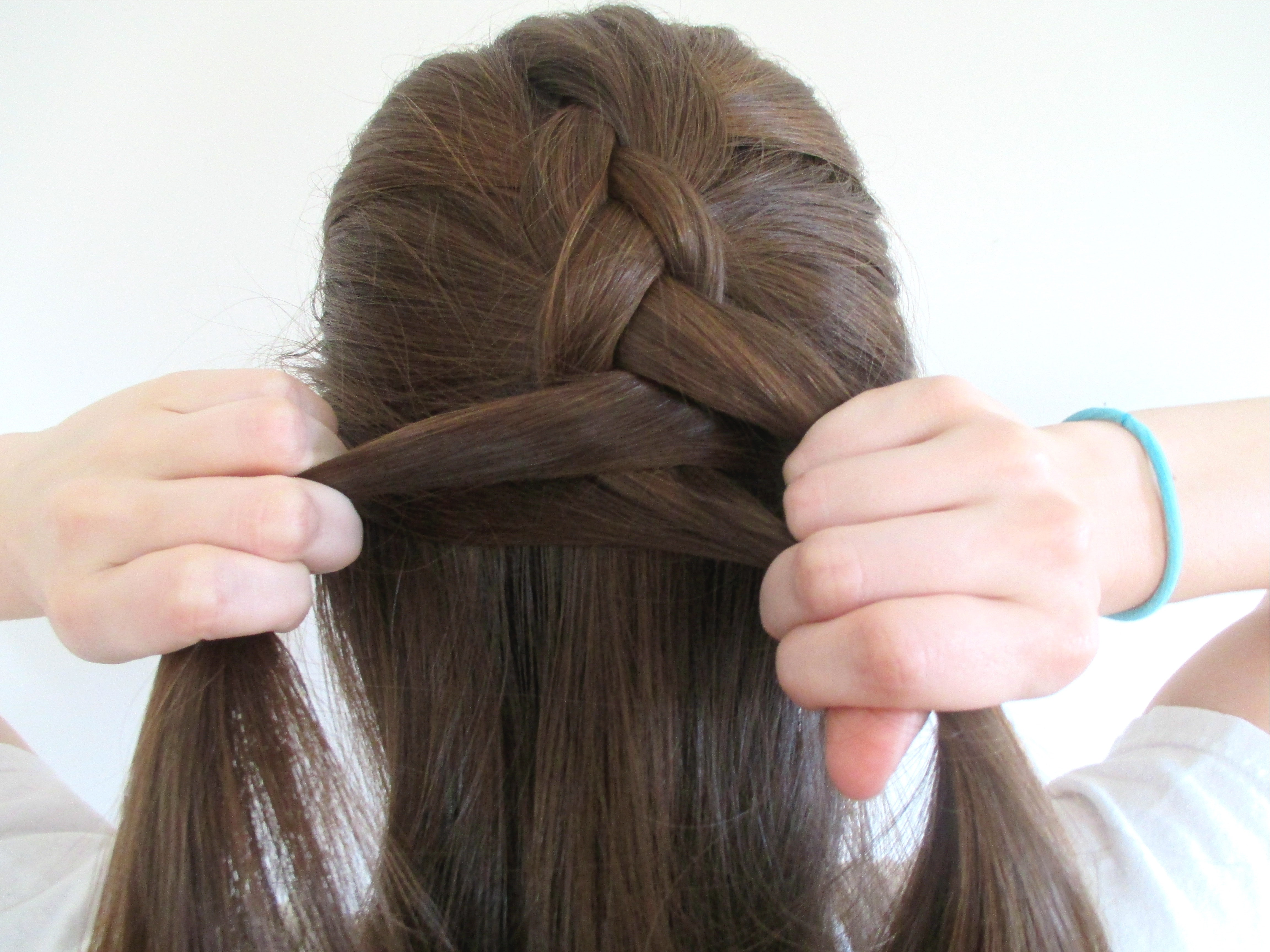 How To Reverse French Braid In 5 Steps  Then Turn It Into A Faux Hawk