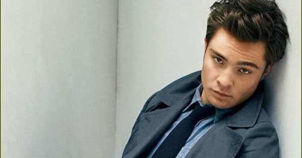 Shirtless Ed Westwick | Hot Pics, Photos and Images