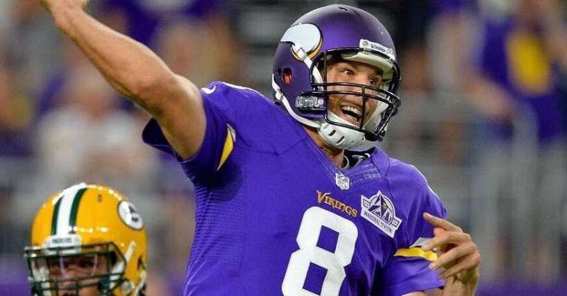 Quarterbacks Nfl Vikings