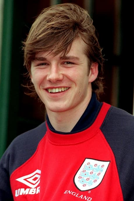 20 Pictures of Young David Beckham
