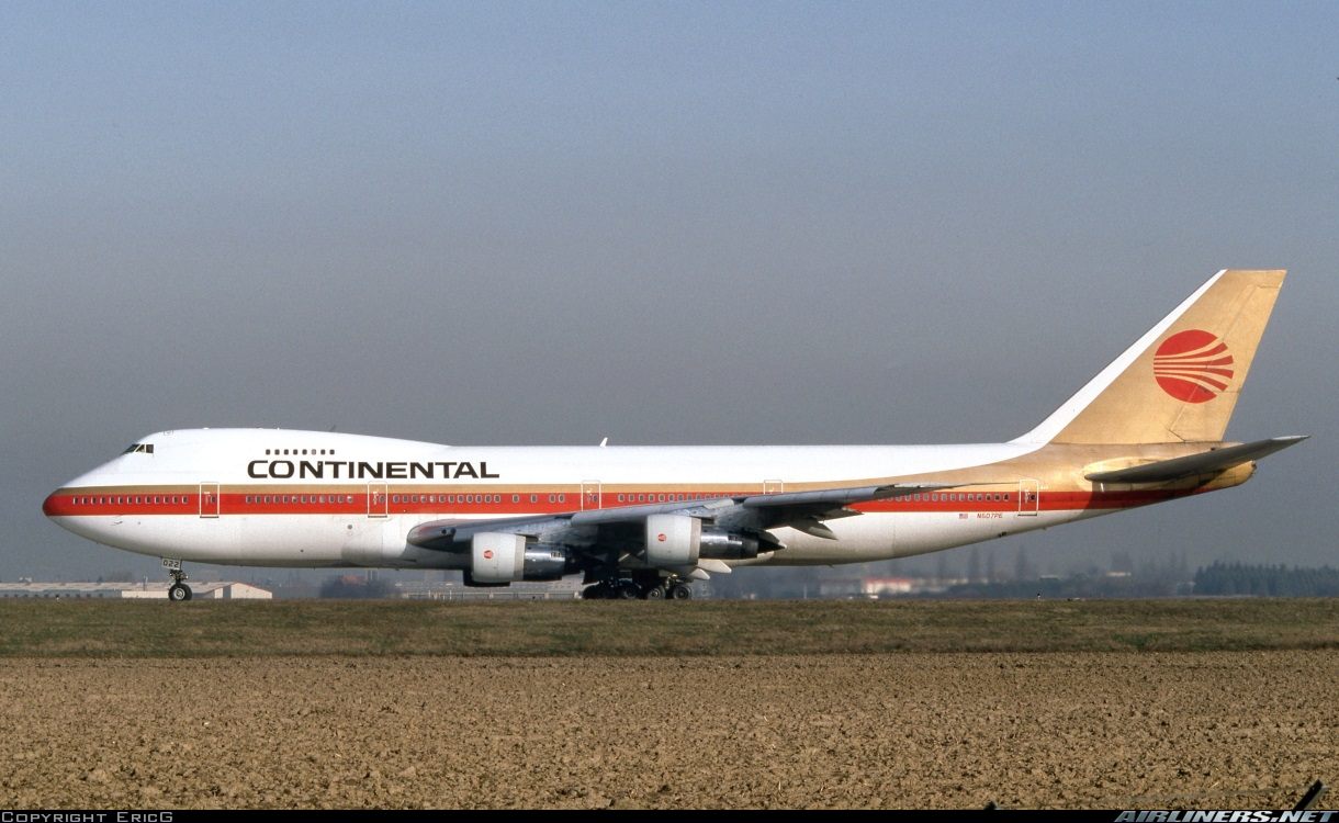 Boeing 747-238B - Continental Airlines | Aviation Photo ...