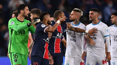 FIVE Red Cards, Including Neymar, In Last Minute As PSG Lose To Marseille -  Eurosport