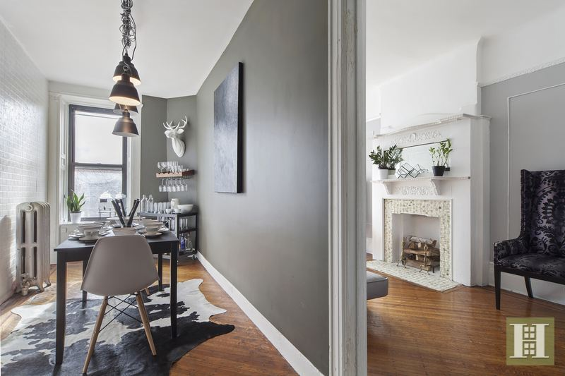2M Historic Bed Stuy Brownstone Comes With an Ethereal Interior   6sqft 231 Decatur Street  bed stuy  brownstone  living room