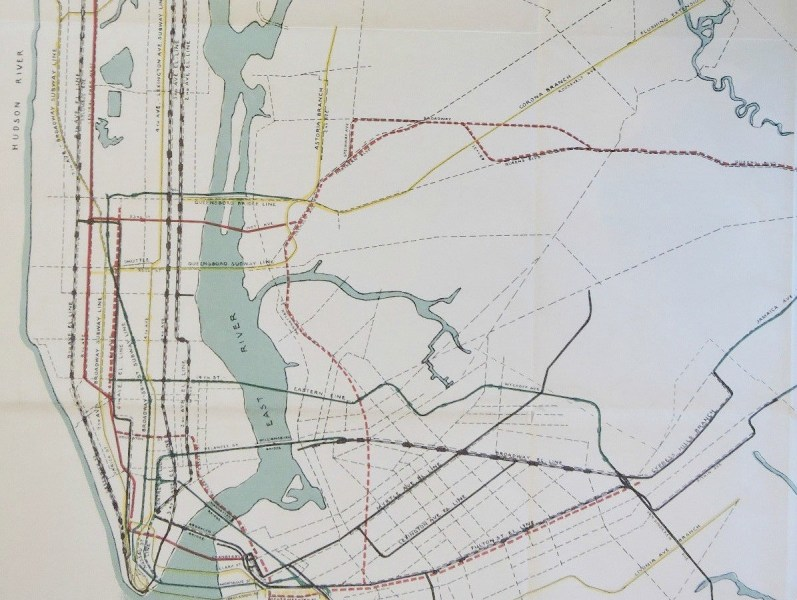 This 1927 city subway map shows early transit plans   6sqft Posted On Wed  August 24  2016 By Michelle Cohen In History  maps   Transportation