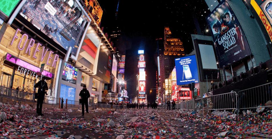 Ball Drop New York City