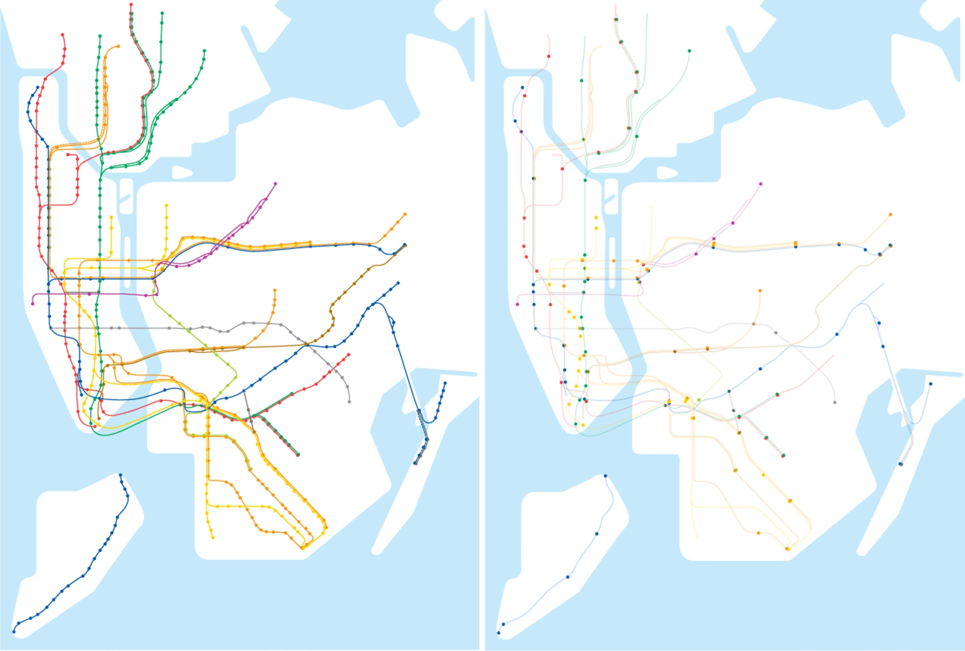 Map shows less than 1 4 of NYC subway stations are accessible   6sqft Posted On Tue  September 26  2017 By Dana Schulz In maps  Transportation