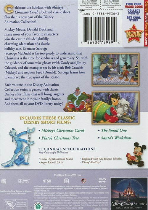 Christmas Mickeys Carol Mickey
