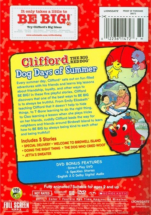 Clifford Big Red Dog Lights Out