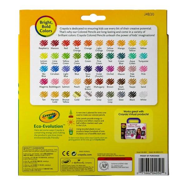 crayola color pencils # 18