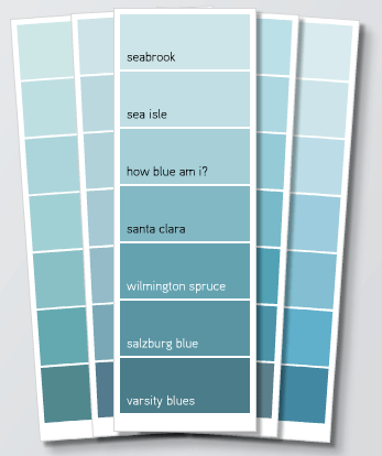 Try A Color On Interior Window Panes The Wallflower