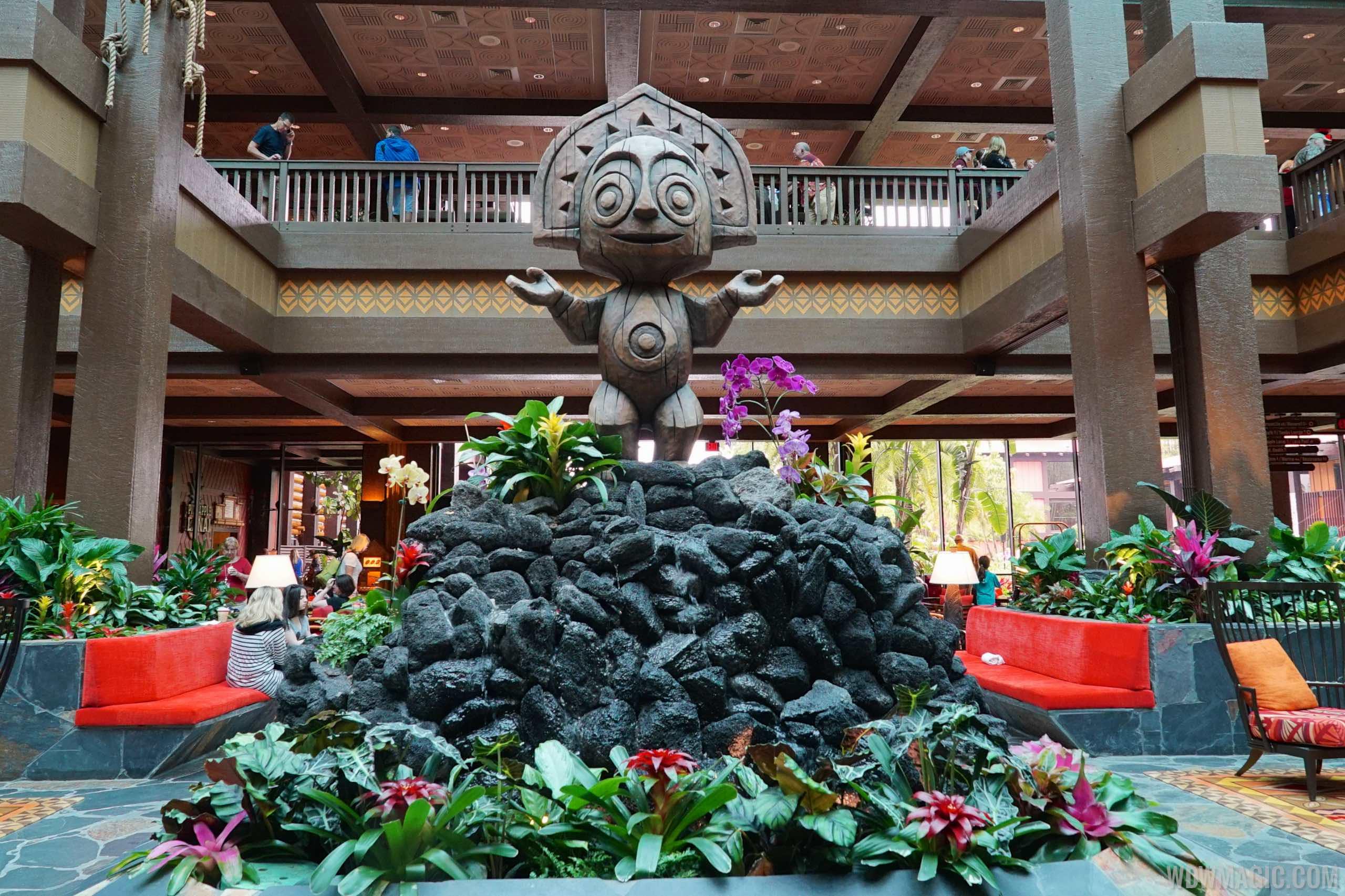 Disney Polynesian Village Lobby