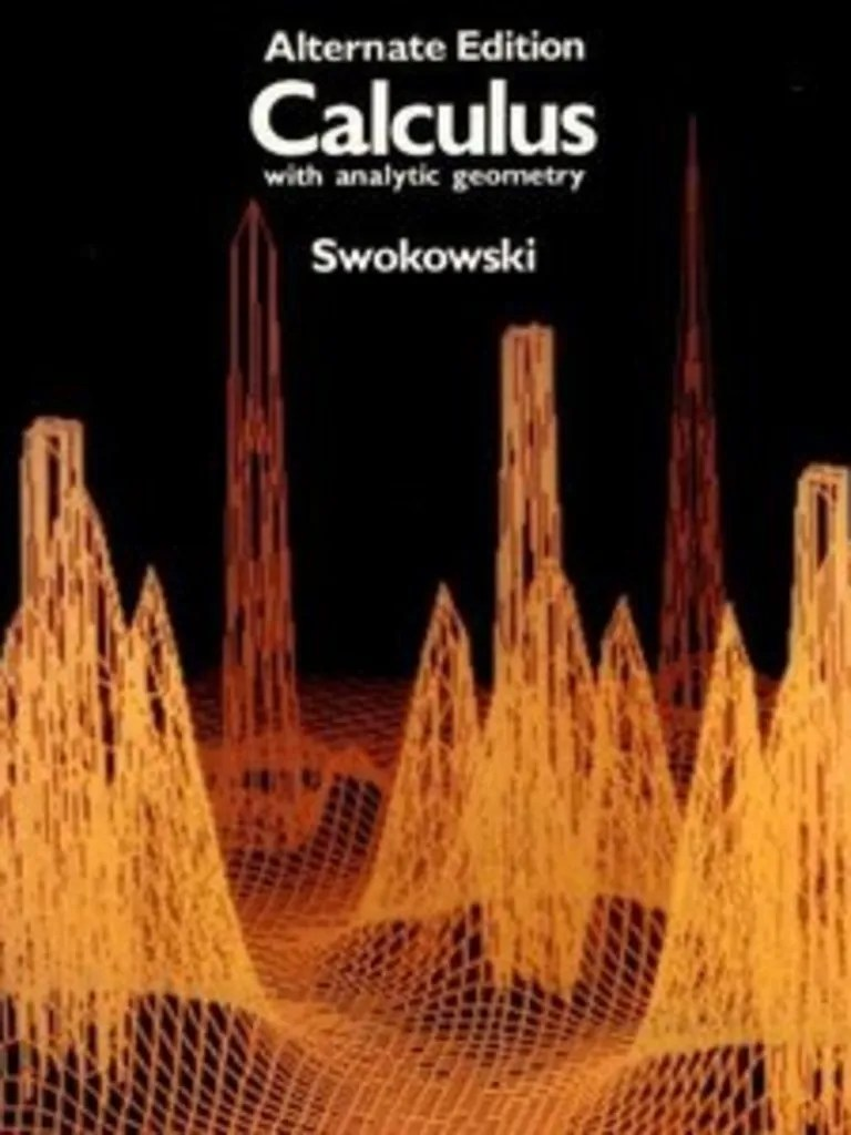Calculus With Analytic Geometry By Swokowski Pdf