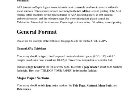 is apa reference page double spaced