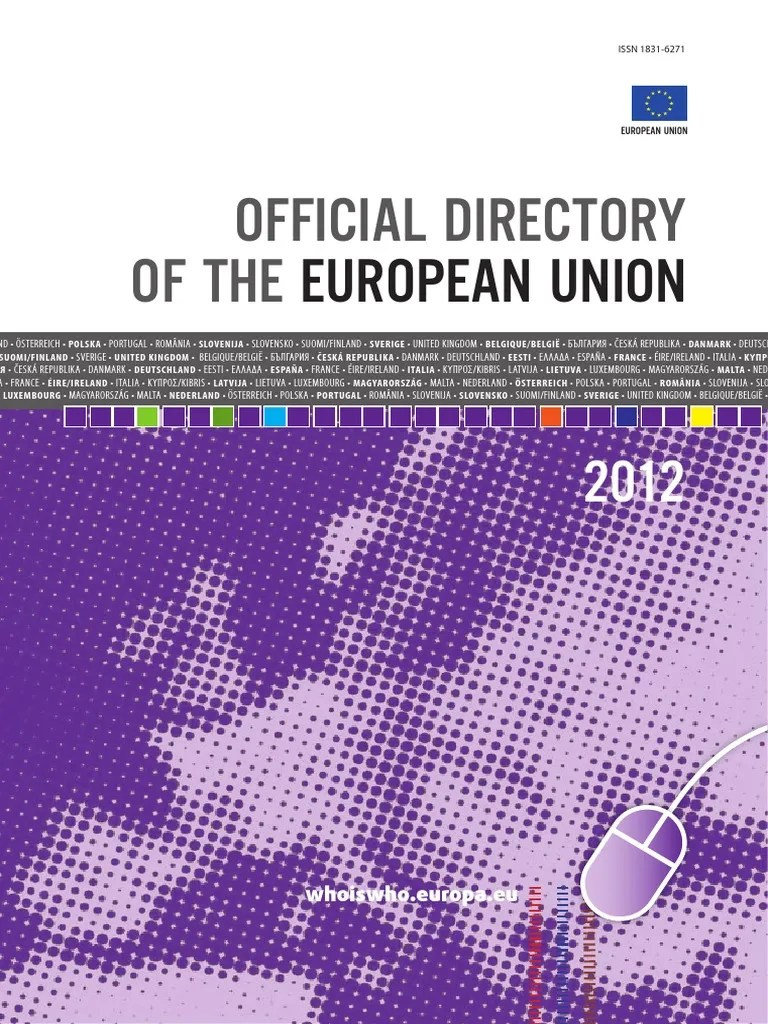 Official Directory of the European Union 2012 | European ...