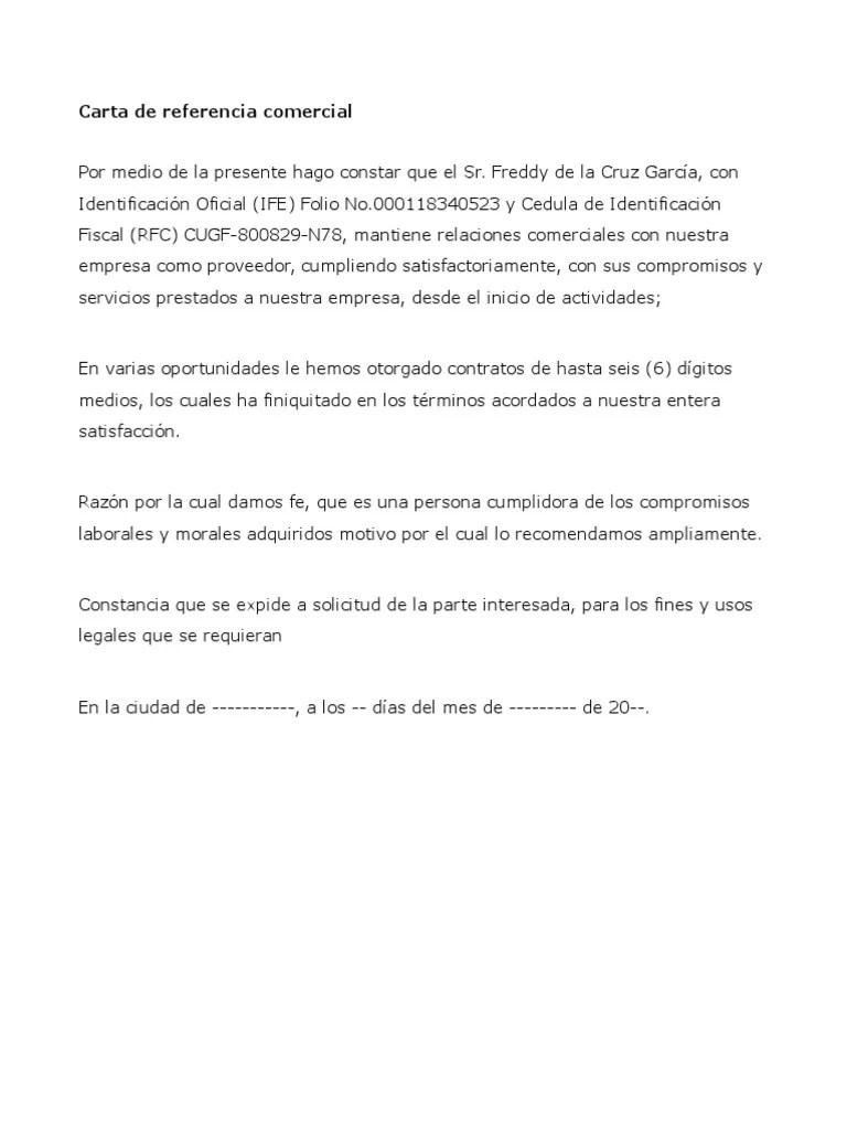 Formatos Carta De Recomendacion Laboral calamarislingshotsite