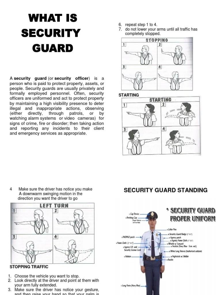 Personal Security Handbook Pdf