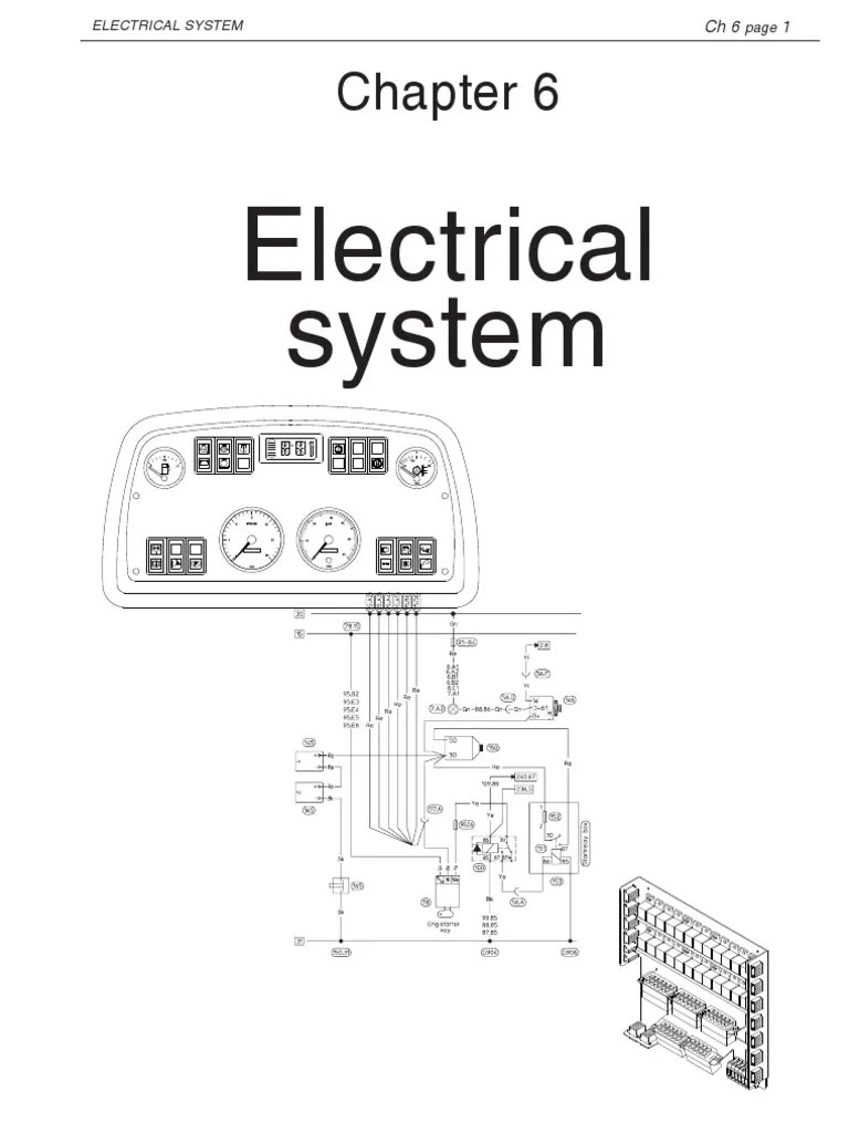 6 electrical system 710655 electrical connector battery