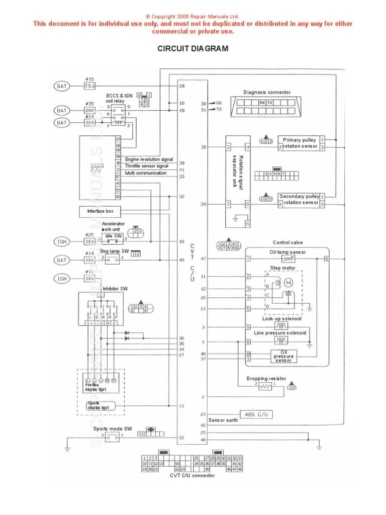 F4a51 Transmission Filter Wiring Diagram