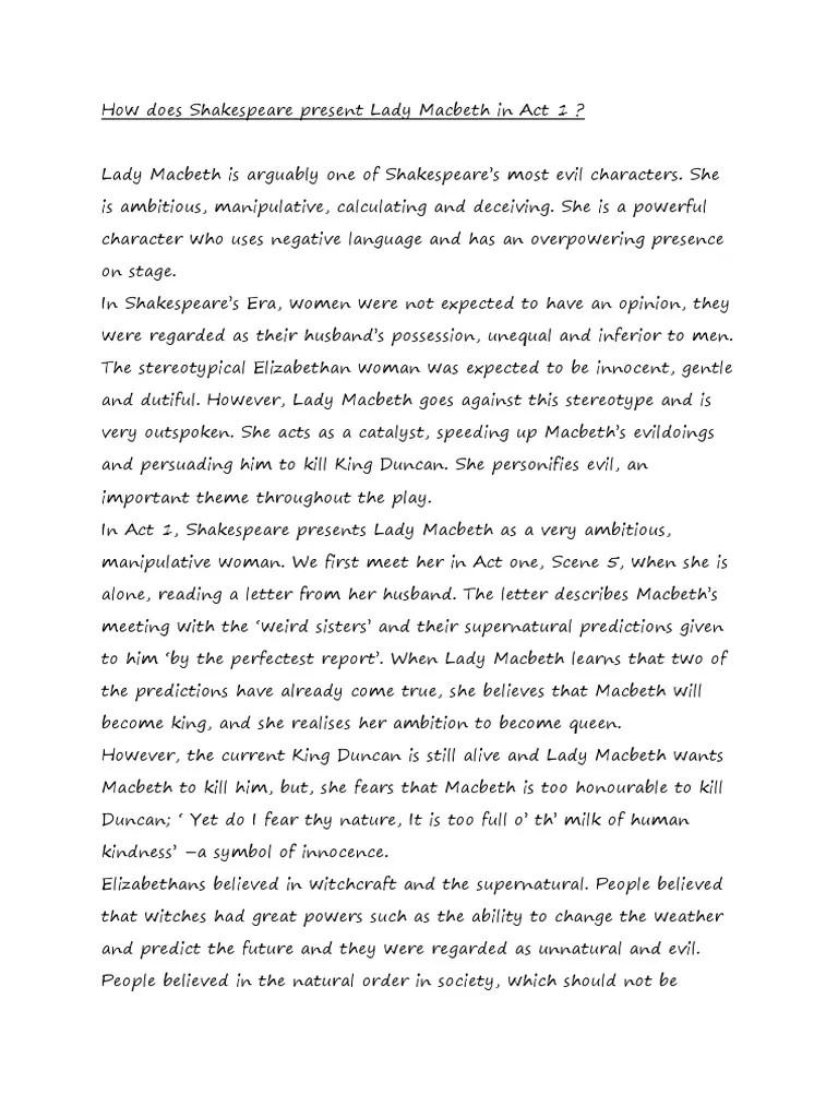 Macbeth Online Read