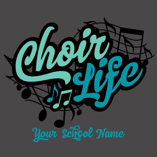 Choir And T Shirts Band