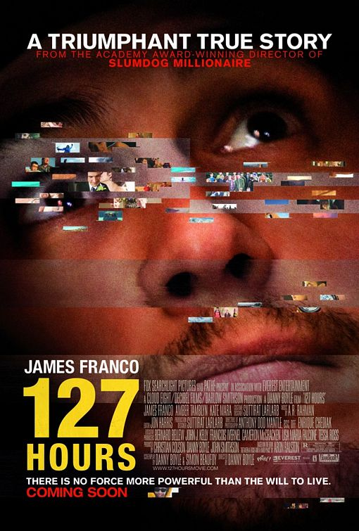 127 Hours Movie Poster 2 Of 5 Imp Awards