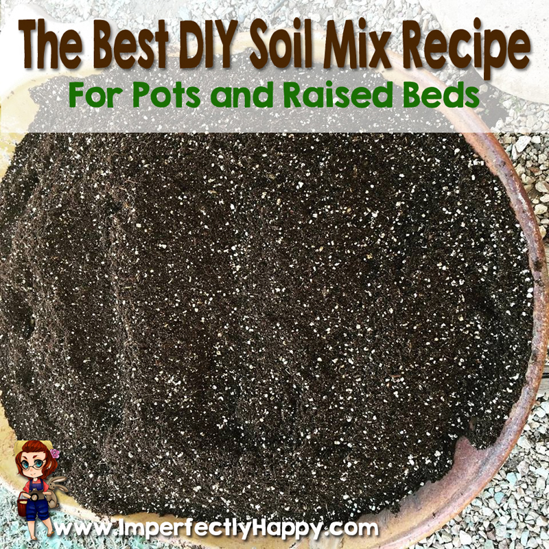 Vegetable Garden Soil Mix