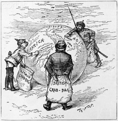 Cartoon European Imperialism Africa